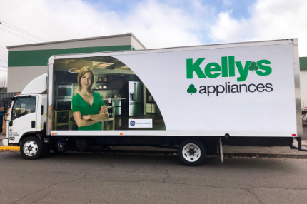 kellys delivery truck