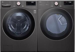 LG Electric Laundry Pair (Front Load)