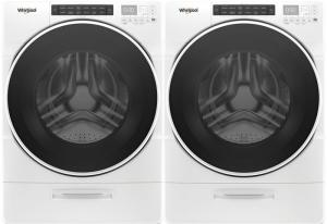 Whirlpool Front Load Laundry Pair (Electric Dryer)