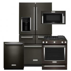 Kitchenaid Black Stainless Package